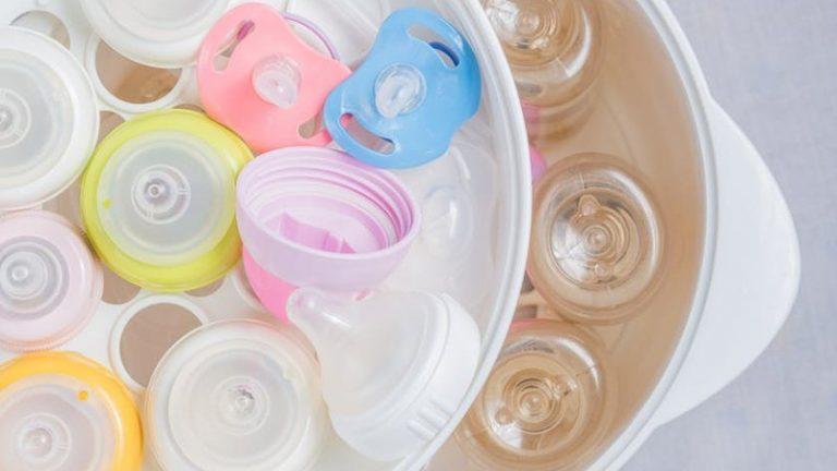 sterilize baby bottles