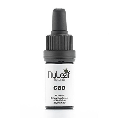 Nuleaf Naturals 240mg oil bottle