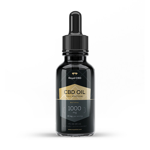 Royal CBD Oil Tincture 1000mg